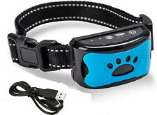 Smart Anti Dog Bark Collar Stop Barking Training Device Rechargeable No Shock UK