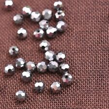 Top Quality Czech Glass Faceted Round Ball Spacer Loose Beads Choose Colors 3MM