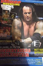 Power Wrestling Dezember 2010 WWE WWF WCW + 4 Poster (Sheamus, Barrett, Kofi)