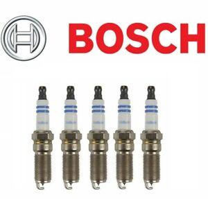 For Buick Chevrolet GMC Saturn Pontiac Set of 5 Spark Plugs Bosch Iridium 96301