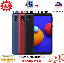 "Samsung Galaxy A01 Core - 16GB (GSM UNLOCKED) 5.3"" Dual SIM 4G LTE DATA NEW"