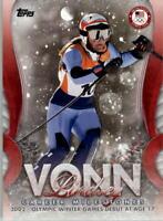 2018 Topps U.S. Olympic Team Lindsey Vonn Career Milestones Sports Card Pick