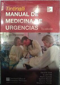 TINTINALLI MANUAL DE MEDICINA DE URGENCIAS 7a edc