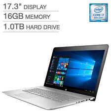 "HP ENVY 17t 8th GEN i7-8550U 1TB HD 16GB RAM 4GB NVIDIA MX150 17.3"" 1080P  DVDRW"