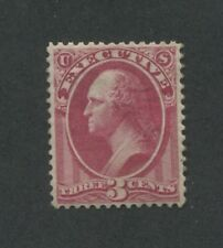 1873 United States Executive Official Stamp #O12 Mint VF Regummed Certified