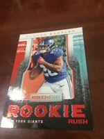 2018 Panini Rookies & Stars Saquon Barkley RC Rookie Rush #RR2 Giants