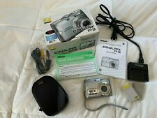 Nikon COOLPIX P3 Digital Camera with 2 batteries, charger, USB plug, and case!!