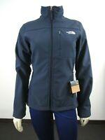 Womens The North Face TNF Apex Bionic Full Zip Softshell Windwall Jacket - Navy