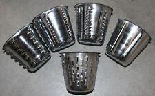 5 Saladmaster Food Processor Cones