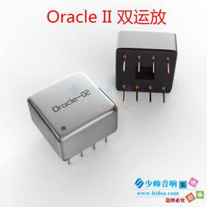 Oracle II Dual Op Amp Hybrid Discrete Audio Operational Amplifier Upgrade Op Amp