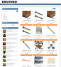 GARDEN DECKING SUPPLIES UK WEBSITE BUSINESS WITH 1 YEARS HOSTING + NEW DOMAIN