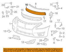 NISSAN OEM Front Bumper-Impact Bar Rebar Reinforcement Support Beam 620323TA1A