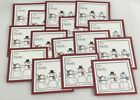 Stampin Up Christmas 15 Gift Tags Stampin Up Gift Tags Snowman Combined Shipping