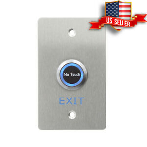 Comgsa No Touch Button  IR 304 Stainless Steel Door Exit Access Control LED, USA