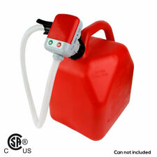 TeraPump TRFA01 Fuel Transfer Pump Battery Electric for Plastic Gas Cans 3 GPM