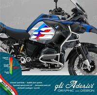 2 Adesivi Fianco Serbatoio Moto BMW R 1200 gs adventure LC Sport Motorrad
