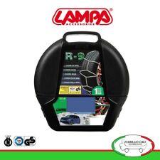 16063 - Catene da neve 9mm Lampa R9 Omologate Gruppo 3 per pneumatici 155/65r14