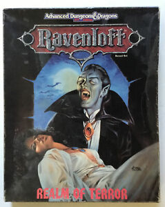 TSR Advanced Dungeons & Dragons 2nd Edition Ravenloft Realm Of Terror Boxed Set