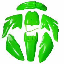 BRAND NEW GREEN BODY PLASTIC KIT HONDA CRF 70 CRF70 Complete 7 pcs Set Fairing