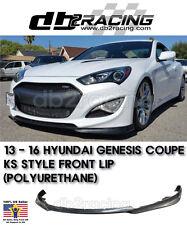 Original KS Front Lip (Urethane) Fits 13-16 Hyundai Genesis Coupe Front Lip KDM