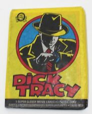 1990 O-Pee-Chee Dick Tracy Movie Wax Pack Trading Cards