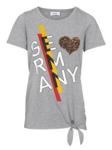 Damen Druckshirt Germany mit Herz must have T-Shirt Wunderschön