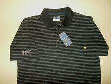 Nwt Jack Nicklaus Jimmy Fund Short Sleeve Black Golf Polo Shirt Mens Large