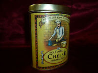 Vintage Parmigiano Parma Sole D'Italia Cheese Formaggio Advertising Tin Storage