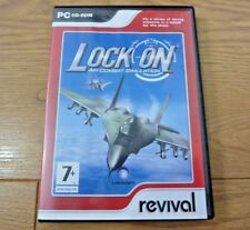 Lock On Air Combat Simulation for PC CD Rom