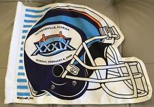 2005 SUPERBOWL XXXIX WINCRAFT FLAG,Jacksonville,Fla.,New England Patriots CHAMPS