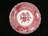 Spode Copeland Camilla Untertasse 16 cm  / pink - rot