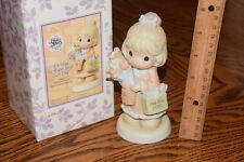 Precious Moments 2001 Figurine It's Time To Bless Your Own Day C0022 With Box