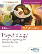 Edexcel Psychology Student Guide 2: Biological psychology and learning theori.