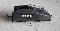 HO Scale Bachmann 2126 Black Tender Car