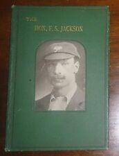 The Hon FS Jackson Yorkshire CCC Percy Cross Standing  first edition