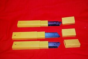 Snap Off Blade 18mm For Utility Cutters Heavy Duty  Lot of 30   S6472