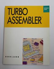 Libro TURBO ASSEMBLER Reference Guide Borland 1988 - 1ª Ed.    Idioma Ingles.
