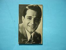 1947/66 TELEVISION & ACTORS EXHIBIT CARD PHOTO PERRY COMO SHARP!! EXHIBITS