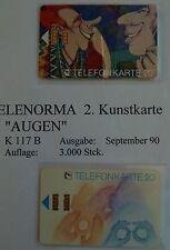 TELENORMA KUNSTSERIE 12 Stück TELEFONKARTEN 1-Serie komplett NEU  postfrisch