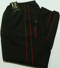 KOOGA TEAMWEAR RUGBY PITCHSIDE/LOISIRS JOGGING JEANS/PANTALONS-NOIR/ROUGE-LARGE
