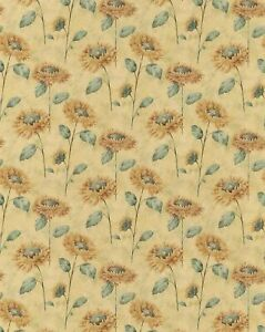 Wallpaper Roll Indy Bloom Sunflower Fall Autumn 24in x 27ft