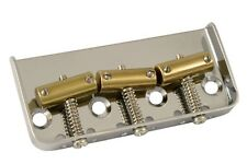 "NEW Telecaster Tele Short BRIDGE ""Cut-Off"" Brass Saddles Nickel GE Smith Style"