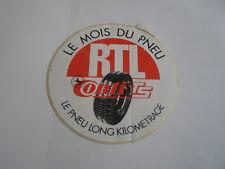 autocollant RTL pneu continental conti TS