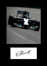 NICO ROSBERG #3 Signed Photo Print A5 Mounted Photo Print - FREE DELIVERY