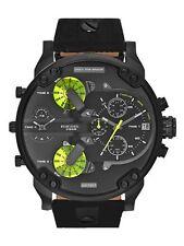 New Diesel DZ7311 Mr. Daddy 2.0 Black Dial Chronograph Men's Wrist Watch + Box