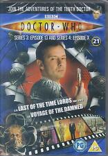 Doctor Who Last Of Time Lords/Voyage Of The Damned (DVD files) #21 David Tennant