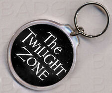 THE TWILIGHT ZONE KEYRING - double sided - CLASSIC!