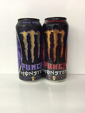 Monster Energy Drink DUB Edition (2)TWO Sealed 16oz Cans.MAD DOG/BALLER'S BLND