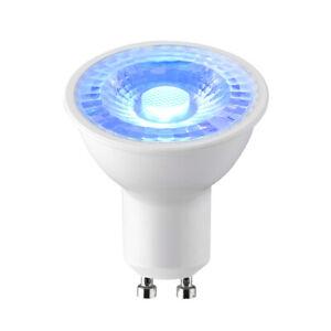Saxby 92537 5W 5 Watt LED GU10 Lamp Light Bulb Spot - Blue