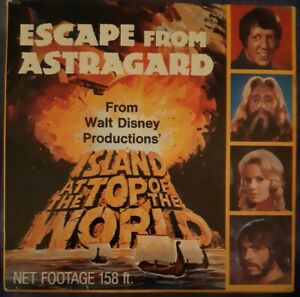 Walt Disney Escape from Astragard (from Island at the Top of the World) Super 8